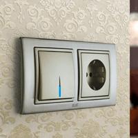 Установка выключателей в Волгограде. Монтаж, ремонт, замена выключателей, розеток Волгоград.